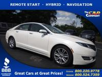 Used 2014 Lincoln MKZ,  DESIRABLE FEATURES:   LEATHER