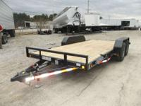 2014 Load Trail CC8016052 80x16 Tandem Car Hauler 80x16
