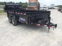 2014 Load Trail DV8314072 83x14 Low Pro Dump 83x14 Low