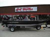 the Lund 1875 Impact aluminum fishing boats are sure to