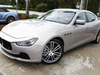 This new 2014 Maserati Ghibli S Q4!!! OPTIONS: