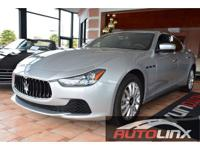 Now for sale is a delightful one owner 2014 Maserati