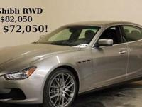 This affordable and highly desired Maserati Ghibli can