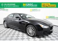 Clean CARFAX. Recent Arrival! This 2014 Maserati Ghibli