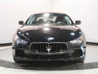 Options:  2014 Maserati Ghibli S Q4|Nero/Black/Black|V6