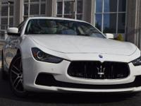 Rest assured, once you take this Maserati Ghibli home