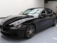 2014 Maserati Ghibli with 3.0L Turbocharged V6