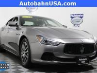 2014 Maserati Ghibli S Q4. STILL UNDER MANUFACTURER'S
