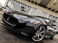 This outstanding example of a 2014 Maserati GranTurismo