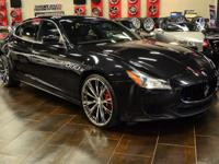 This 2014 Maserati Quattroporte S Q4 features a 3.0L V6