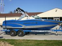 This MasterCraft X-10 is in perfect condition inside
