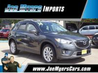 CARFAX One-Owner. Clean CARFAX. Gray 2014 Mazda CX-5