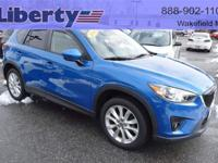 The 2014 Mazda CX-5 GT 1 OWNER ONLY 39000 MILES, MAZDA