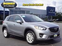 Recent Arrival! Gray 2014 Mazda CX-5 Grand Touring 4D