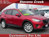 Options:  2014 Mazda Cx-5 Grand Touring|Red|2.5L 4