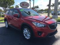2014 Mazda CX-5 Grand Touring in Red, *All Routine