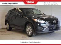 CARFAX One-Owner. 2014 Mazda CX-5 Sport in Jet Black