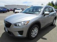 Excellent Condition. CX-5 Sport trim, Liquid Silver