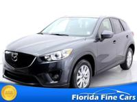 CX-5 Touring trim. CARFAX 1-Owner. $2,800 below NADA
