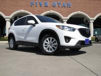 2014 Mazda CX-5 Touring Crystal White Pearl Mica Clean