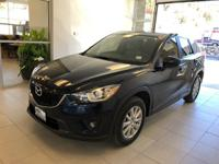 One-Owner. Clean CARFAX. Black 2014 Mazda CX-5 Touring
