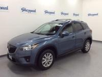 CX-5 Touring trim. CARFAX 1-Owner, GREAT MILES 38,556!