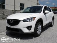 CARFAX One-Owner. White 2014 Mazda CX-5 Touring AWD
