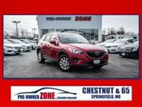 Certified,2014 Mazda CX-5 Touring in Red with Black