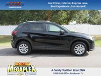 This 2014 Mazda CX-5 Touring in Black is well equipped