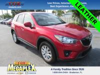 This 2014 Mazda CX-5 Touring in Soul Red Metallic is