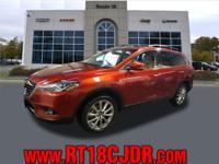 This 2014 Mazda CX-9 AWD 4DR GRAND TOURING boasts