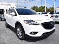 One-Owner Local Trade-in!!. CX-9 Grand Touring, Crystal