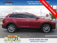 This 2014 Mazda CX-9 Grand Touring in Zeal Red Mica is