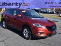 1 OWNER MAZDA CERTIFIED CX9  TOURING TECHNOLOGY PACKAGE