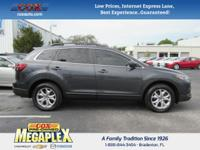 This 2014 Mazda CX-9 Touring in Gray is well equipped