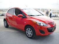 Mazda2 Sport trim, True Red exterior and Black