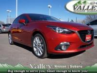 CLEAN CARFAX ONE OWNER!. Mazda3 s Touring, 4D