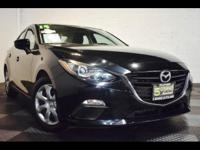 Our re-designed 2014 Mazda3 i SV is brought to you in a