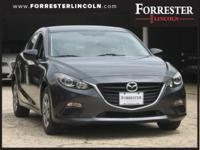 2014 Mazda, Mazda3, Charcoal, 1-Owner, Accident Free