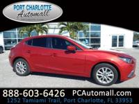 CARFAX One-Owner. Red 2014 Mazda Mazda3 i Touring FWD