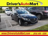 CARFAX One-Owner. Black 2014 Mazda Mazda3 i Touring FWD