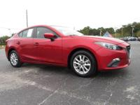 Red Metallic 2014 Mazda Mazda3 i Touring FWD 6-Speed