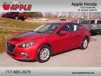 Clean CARFAX. CARFAX One-Owner.2014 Mazda Mazda3 i
