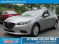 This 2014 Mazda offered at Certicare  Huntington.  The