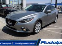 REDUCED PRICE, Mazda3 s Grand Touring, 4D Sedan,