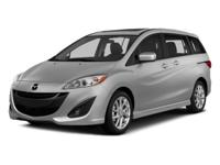 2014 Mazda Mazda5 Silver  28/22 Highway/City MPG  Could