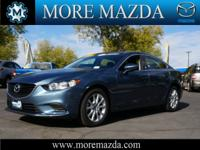 This MAZDA6 is CERTIFIED! This 2014 Mazda MAZDA6 i