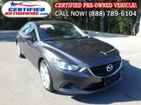 ONE OWNER - LOW LOW MILES! This 2014 Mazda Mazda6 is