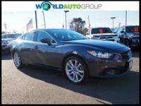 Recent Arrival! Gray i Touring FWD 6-Speed SKYACTIV-G