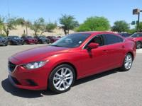 Options:  2014 Mazda Mazda6 I Touring|Red|Carfax